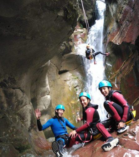 Barranco de Liri o 12 cascadas