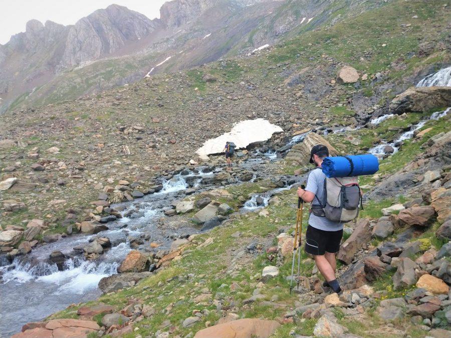 Aventura en un trekking en Pirineos