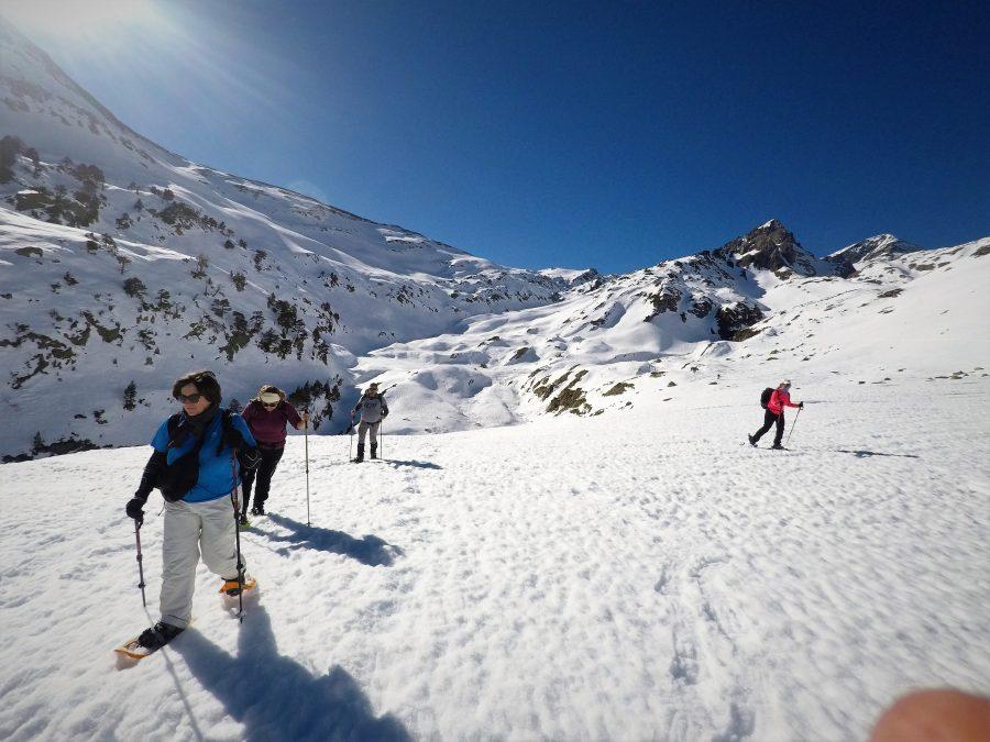 Raquetas de nieve ruta y ascensiones