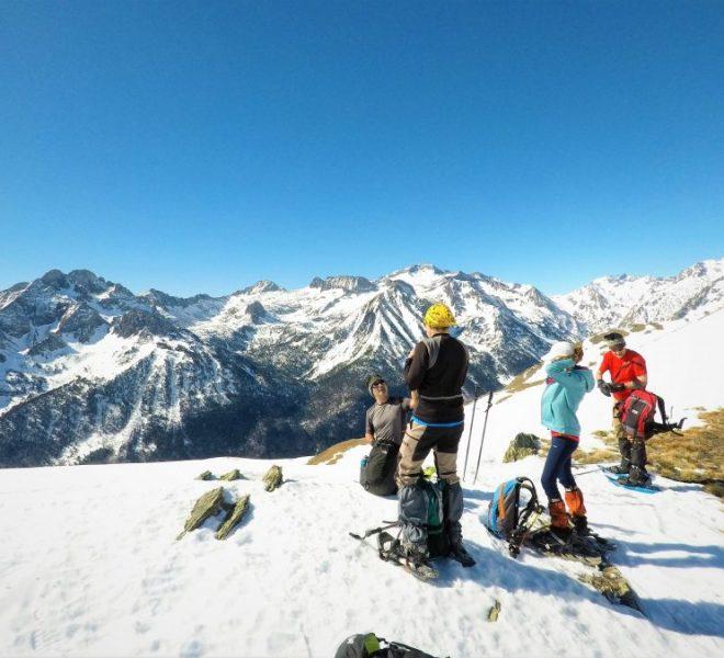 Raquetas de nieve ascensiones