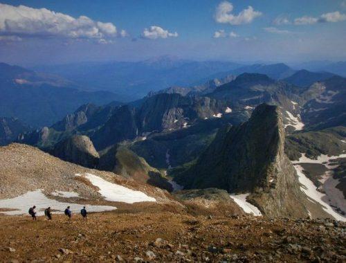 Travesias de montaña con ekur guias